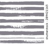 brush stripes vector seamless... | Shutterstock .eps vector #289421165