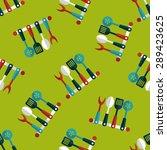 kitchenware spatula flat icon... | Shutterstock .eps vector #289423625