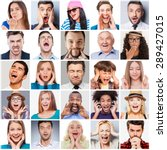 diverse people with different... | Shutterstock . vector #289427015