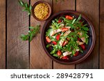 chicken salad with arugula and... | Shutterstock . vector #289428791