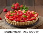 Tart With Strawberries And...