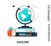 abstract vector illustration of ... | Shutterstock .eps vector #289446161