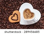 Coffee Time Concept. Heart...