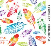 crazy beautiful imprint... | Shutterstock .eps vector #289460651