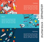 science education info graphic... | Shutterstock .eps vector #289469039