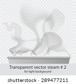 vector  transparent dark steam... | Shutterstock .eps vector #289477211