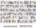 people diversity success... | Shutterstock . vector #289507961