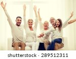family  happiness  generation... | Shutterstock . vector #289512311