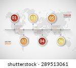 timeline vector infographic....   Shutterstock .eps vector #289513061