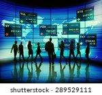 stock exchange market trading... | Shutterstock . vector #289529111