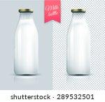 traditional glass milk bottle....