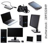 set of different computer... | Shutterstock . vector #289532849