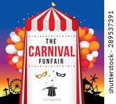 the carnival funfair and magic