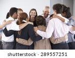 group of businesspeople bonding ... | Shutterstock . vector #289557251