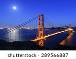 Golden Gate At Night  San...
