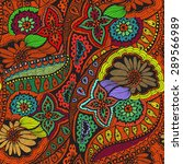 fantasy creative seamless... | Shutterstock .eps vector #289566989