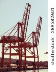 Small photo of GDYNIA, POLAND - JUNY 13: BTC Baltic Container Terminal on Juny 13, 2015, Poland. BCT is the leading container terminal in Poland and one of the largest in the Baltic region.