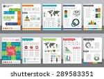 set of corporate business... | Shutterstock .eps vector #289583351