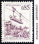 yugoslavia   circa 1966  a... | Shutterstock . vector #289593947
