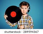 Cute 7 Year Old Boy Listening...