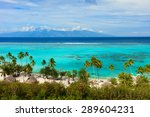 beautiful coastal landscape of... | Shutterstock . vector #289604231