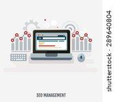 concept of programming process  ... | Shutterstock .eps vector #289640804