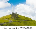 Obelisk On The Summit Of The...
