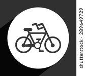 Bike Icon Design  Vector...