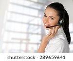 customer service representative ... | Shutterstock . vector #289659641