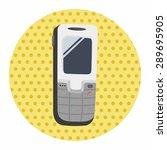 cellphone theme elements vector ... | Shutterstock .eps vector #289695905