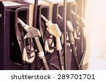 gas pump nozzles in service... | Shutterstock . vector #289701701