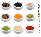 spice  herb  herbal medicine. | Shutterstock . vector #289702205