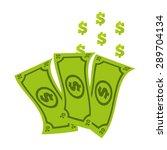 money icon design  vector... | Shutterstock .eps vector #289704134