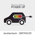 energy design over white... | Shutterstock .eps vector #289704155