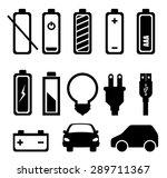 energy design over white...   Shutterstock .eps vector #289711367