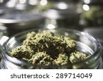close up marijuana buds in... | Shutterstock . vector #289714049