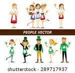 saint patrick's day and... | Shutterstock .eps vector #289717937