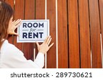 """woman putting a sight """"room for ... 
