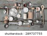 Old Miniatures Of Kitchen...