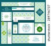 beautiful floral design... | Shutterstock .eps vector #289746737