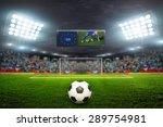 on the stadium. abstract...   Shutterstock . vector #289754981