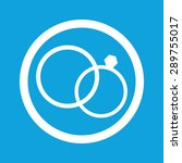 image of wedding rings in... | Shutterstock .eps vector #289755017
