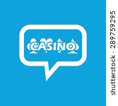 image of casino logo in chat...