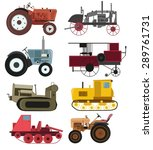 Industrial Vintage Tractors...
