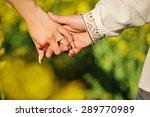 hands of couple   Shutterstock . vector #289770989