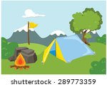 camp | Shutterstock .eps vector #289773359