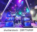 los angeles   june 17  guitar... | Shutterstock . vector #289776989