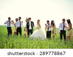 Wedding Couple   Groomsman And...