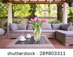 designed space for relax in... | Shutterstock . vector #289803311