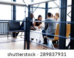 group of executives sitting and ... | Shutterstock . vector #289837931